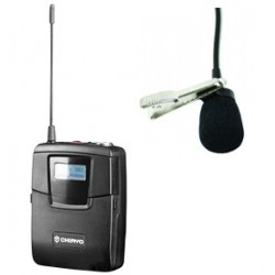 Chiayo SM6100/MC16 100 Channel Bodypack Transmitter & Lapel Microphone