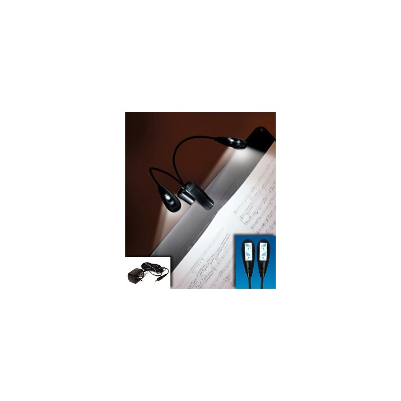 mighty bright duet 2 music stand led light penrith light. Black Bedroom Furniture Sets. Home Design Ideas