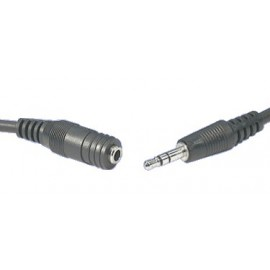 Lead 3.5mm Stereo Plug to 3.5mm Stereo Socket 1.5M