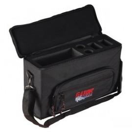 Gator GBA-M2W Wireless Microphone Bag for 2 system